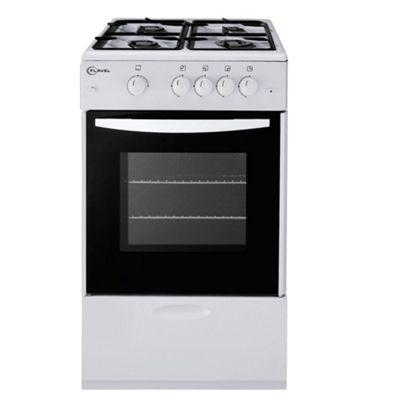 Flavel FSG51NP White Single FSD Gas Cooker