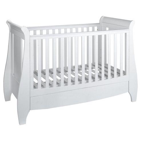 Tutti Bambini Lucas Cot Bed, White