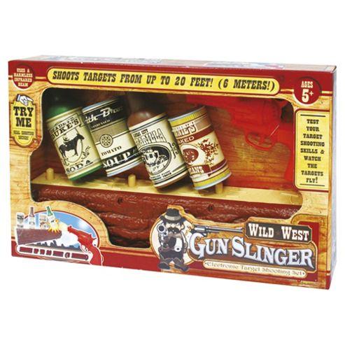 Wild West Gunslinger Target Shooting Game