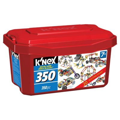 K'NEX 350 Piece Tub Model Set