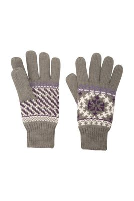 Mountain Warehouse Kids Pattern Thinsulate Glove ( Size: S/M )