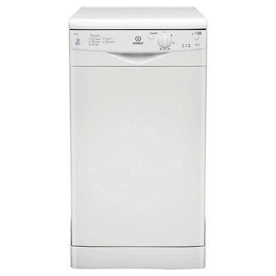 Indesit IDS105 Slimline Dishwasher, A Energy Rating, White
