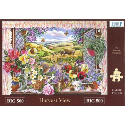 Harvest View - Extra Large Puzzle