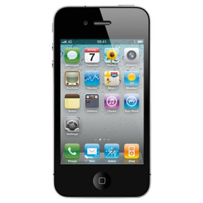 Tesco Mobile iPhone 4 32GB White Pay as you go