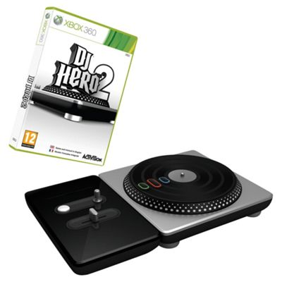 Dj Hero 2 - Bundle With Turntable Controller