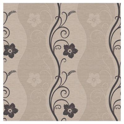 Arthouse Rhythm motif taupe wallpaper