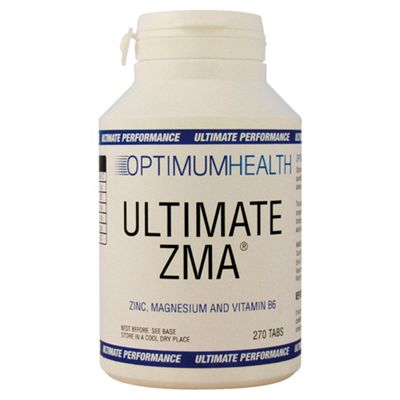 Optimum Health Ultimate ZMA 270 x 800mg Caps