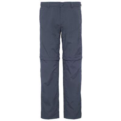 The North Face Mens Horizon Convert Pant Asphalt Grey 36 Short Leg