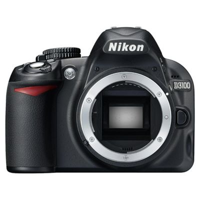 Nikon D3100 Digital SLR Camera Body Only Black