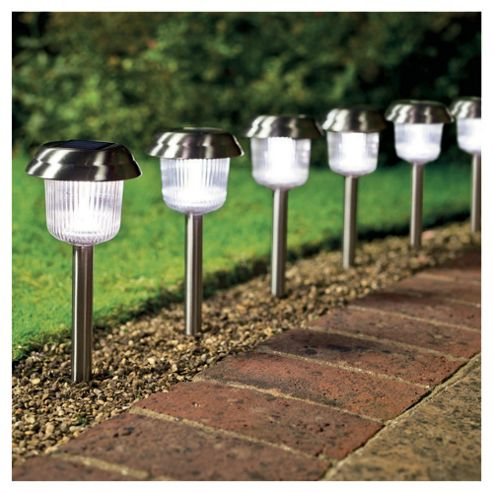 Tesco super bright solar markers 6 pack