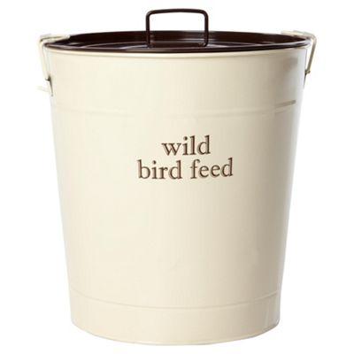 Wild bird feed storage bin