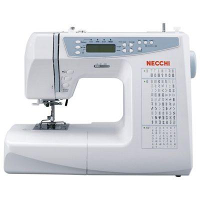 Necchi 681C Computerised Sewing Machine - White