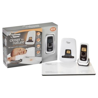 Tommee Tippee Closer To Nature Digital Baby Monitor And Sensor Pad