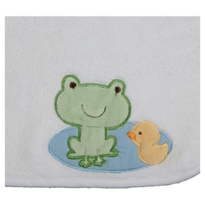Kids Line Supersoft Design Blanket, Frog & Duck