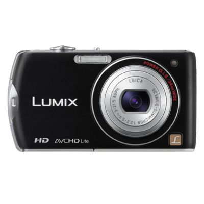 Panasonic Lumix FX70 Digital Camera, Black, 14.1MP, 5x Optical Zoom, 3.0 inch LCD Screen