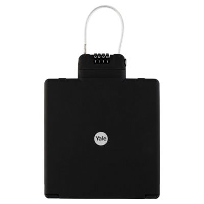 Yale black travel safe