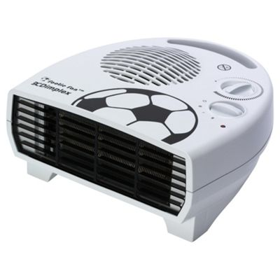 Dimplex DXDFB2 Flat Football Fan Heater,  2000W - White