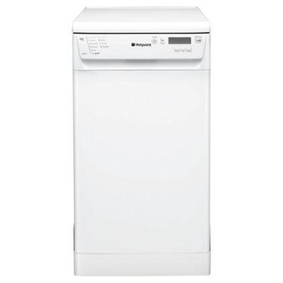 Hotpoint SDD910P Slimline Dishwasher, A Energy Rating, White