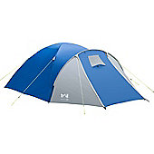 Trail Bracken 4-Man Dome Tent with Porch - Blue