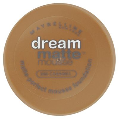 Maybelline Dream Matte Mousse Foundation 060 Caramel