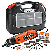 BLACK+DECKER 90W Rotary Multitool Kitbox RT650KA