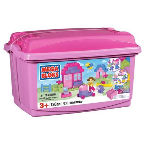 Mega Bloks Mini Bloks Tub Pink