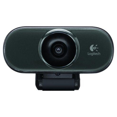 Logitech C210 1.3MP VGA Webcam with Microphone