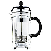Chrome Cafetiere, 8 Cup