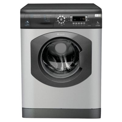 Hotpoint WDD960G Washer Dryer, 8kg Wash Load, 1600 RPM Spin, B Energy Rating. Graphite