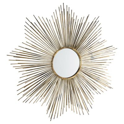 Morning Light Mirror Antique Gold Dia. 79cm