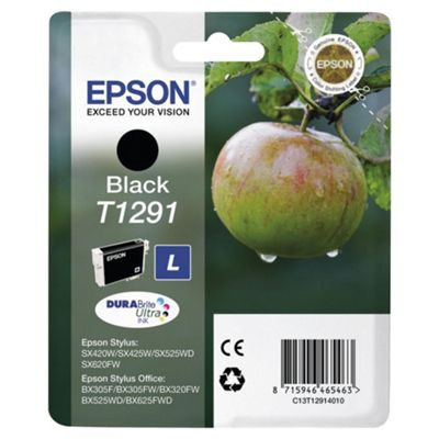 Epson Apple T1291 Black DURA Ink