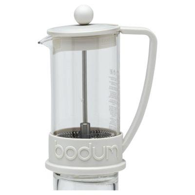 Bodum 3 Cup Caffetiere, White