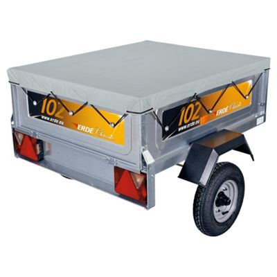 Erde BP160 Flat Cover for a 163 Trailer