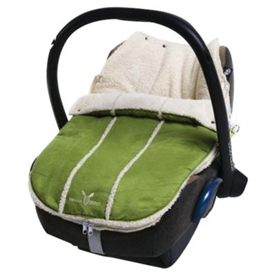 Wallaboo Newborn Footmuff, Lime