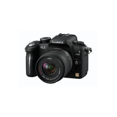 Panasonic Lumix G2 12.1MP Compact System Camera Kit - Black (incl 14-42mm Lens Kit)