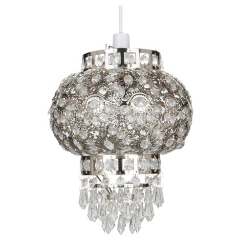 Tesco Lighting ruby Moroccan pendant with droplets