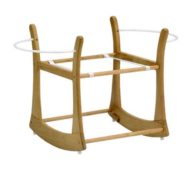 East Coast Antique Rocking Moses Basket Stand-DUPLICATE