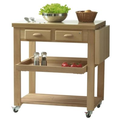 Eddingtons Burbage Beech Kitchen Trolley