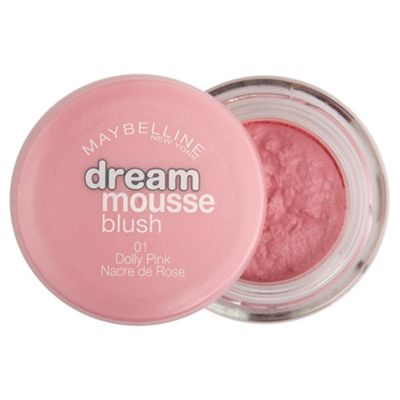 Maybelline Dream Mousse Blush Dolly Pink