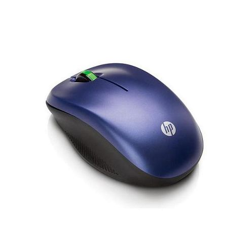 HP 2.7 GHz Wireless Optical Mouse Blue
