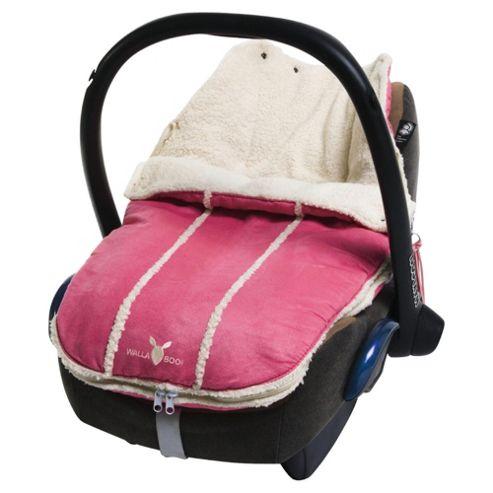 Wallaboo Newborn Footmuff, Pink