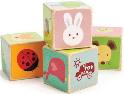 Le Toy Van Petilou Little Leaf Blocks Wooden Toy