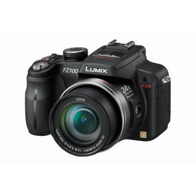 Panasonic DMC-FZ100 Digital Camera Black Leica DC Lens