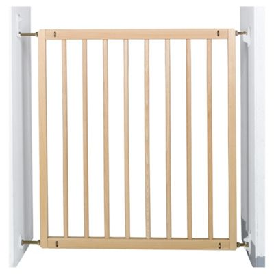 Delightful BabyDan No Trip Wooden Safety Stair Gate