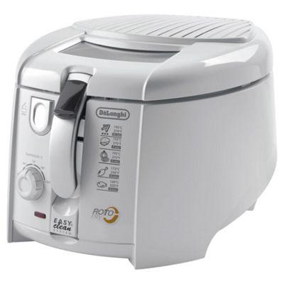 De'Longhi Roto Fry Deep Fryer, F28311 - White