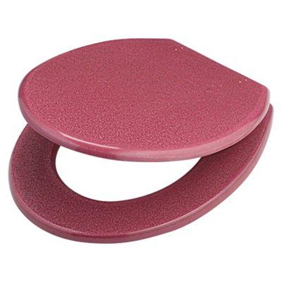 Tesco Glitter Toilet Seat Pink