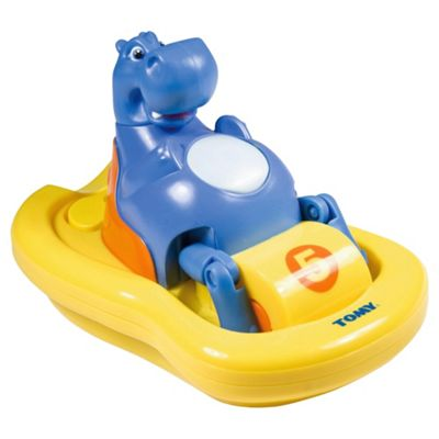 Tomy Aquafun Hippo Pedalo Bath Toy