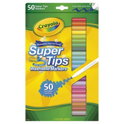 Crayola Super Tips Washable Marker Pens 50 Pack