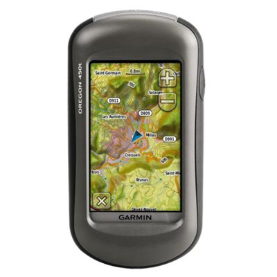Garmin Oregon 450T GPS Handheld