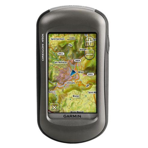 Garmin Oregon 450T GPS Handheld